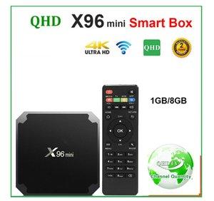 X96 Mini Set-top box Android 7.1 1 8GB AMLOGIC S905W quad qhdtvCO-RE X96Mini leadcool Android Lxtream Smart TV box