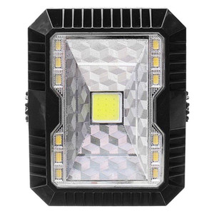 5W Outdoor Solar LED Flood Light Camping Lantern Camping Tent Lights Portable USB Rechargable