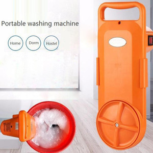 HIMOSKWA Portable Cleaing Device Semi-automatic Electric Washing Machine 220V Home Clothes Cleaner For Dormitory Hotel Timed
