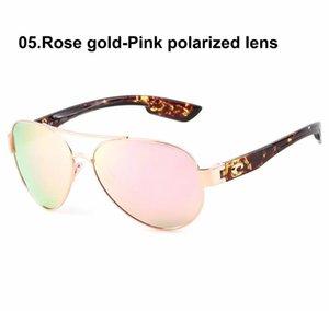 Klasik Kosta Güneş Gözlüğü Mens Güney Point_580P Polarize UV400 PC Lens Yüksek Kalite Moda Marka Lüks Tasarımcılar Kadınlar için Güneş Gözlükleri