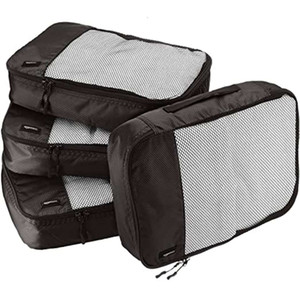 Multifunctional travel storage toiletries cosmetic underwear bag multi piece set