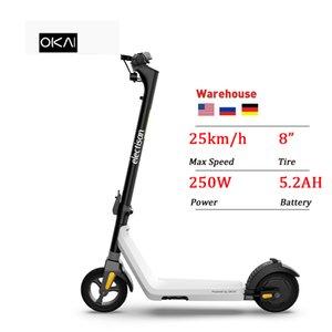 OKAI USA EU Warehouse Foldable Trotinette Electrique Patinete Electrico Adult Electric E Scooter