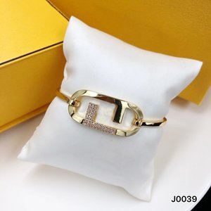 Fashion Bracelet Love Men Women Gold Buckle Versatile Bracelet Letter F Bracelets Luxurys Designers Love Bracelets For Gift D2109165Z