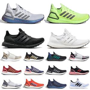 adidas ultraboost ultra boost جودة جديدة الترا 6.0 Ultraboost 20 الرجال النساء احذية الجري فولت الأسود والذهبي العملات اندفاعة رمادي سحابة بيضاء رياضية المدربين