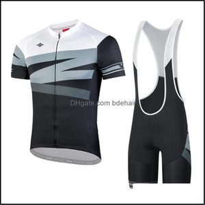 Racing Athletic Outdoor Apparel Sports & Outdoorsracing Sets Santic Cycling Jersey Set Summer Wear Mountain Bike Clothes Bicycle Clothing Mt