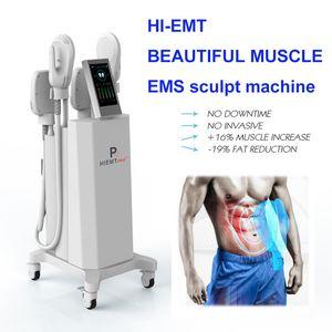 NEW sculpt EMslim HI-EMT machine EMS Muscle Stimulator electromagnetic fat burning shaping hiemt sculpting beauty equipment free logo