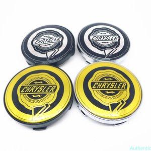 4pcs 60mm For Chrysler Car Wheel Center Hub Rim Cap Styling Cover 56mm Emblem Badge Accessories