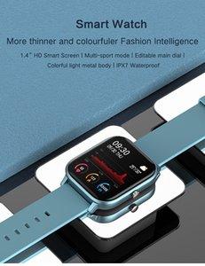 Top Smart Watch Mulheres Homens Esporte IP67 Relógio Impermeável Relógio Heart Pressão SmartWatch para iOS Android