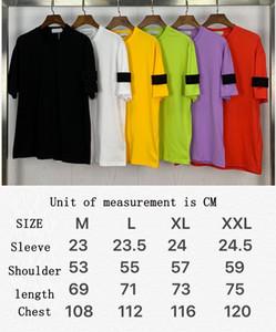 Cptopstoney تي شيرت مصنع الجملة رجل الزى مصمم قمصان topstoney الصيف القطن الأساسي الأكمام شارة قصيرة الأكمام الأزياء بولو كوليتي