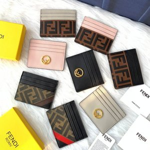 Fendi Top quality Card holder Wallets Key Purse Luxurys Designers Holders Embossing handbag Men Women's COIN Genuine Leather FD Lambski