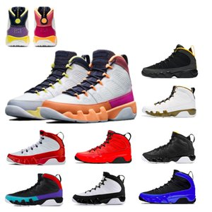 Jumpman 9 Mens Basketball Shoes Motorboat Jones 9s University Gold Chile Red Change The World Space Jam White Pink Multi Color Statue Oregon Ducks Trainers Sneakers
