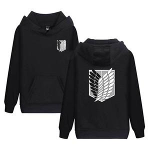 Attack On Titan Hoodie Costume Hood Men's Sweatshirts Big Size Hoddie For Men Women male Sportswear Cosplay X1021