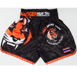 Muay MMA Tiger Tigre Boxing Match Sanda Training Respirável Shorts Muay Thai Roupas Boxe Tigre Muay Thai MMA C0222