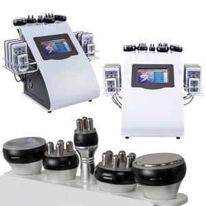 6 In 1 Kim 8 Slimming System 40k Cavitation Machine Lipo Laser Ultrasonic Vacuum RF LLLT Lipolysis Fat Burning Body Shaping Beauty Equipment