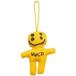 Cpfm human made co named cactus buddy four eyes smiling face Doll Bag with cartoon cute