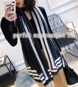 High quality Fashion autumn and winter brand silk scarves timeless classic, super long shawl fashion women's soft silk scarves 180*70cm