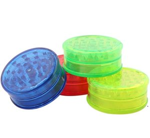 plastic tobacco grinders 3 layer grinder for smoke accessories smoking pipes acrylic grinders Smoking Accessories sea shipping OWB5224
