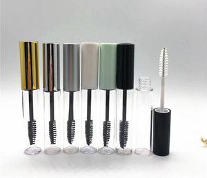 10ML Empty Mascara Bottle Container Tube With Eyelash Wand Brush Round Eyelash Bottles Clear Empty Mascara Packing Bottles LLS690