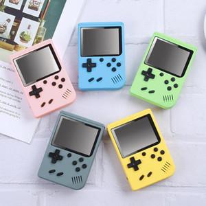 Portable Macaron Handheld Game Console 800 en 1 AV Jeux Vidéo Retro 8 bits Joueurs de jeu 3 pouces Couleur LCD Pocket Gameboy 20pcs