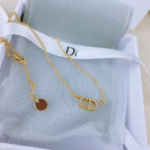 Dijia Necklace Seiko CD letter necklace design