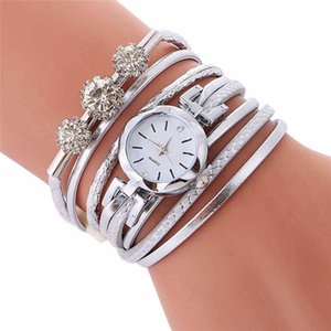 Women's Watches Best Sellers Diamond-Encrusted Personality Winding Around The Bracelet Watch Montre Femme Acier Inoxydable @50 H1012