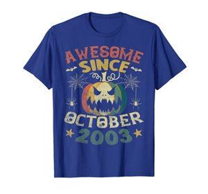 Impresionante desde octubre de 2003 Vintage Pumpkin 16th Tee.
