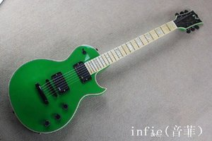 Top Quality standar Eclipse vinatge green CUSTOM SHOP EMG pickup Maple fingerboard electric guitar