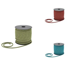 Cords, Slings And Webbing 50M Reflective Paracord 4Mm 7 Strand Core Outdoor Camping Rope Parachute Cord Lanyard Tent Multifunction Cordave