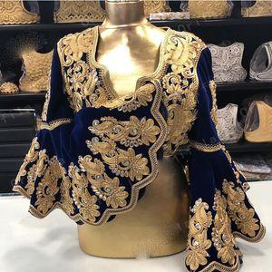 Vestidos De Novia Kosovo Albanian Caftan Evening Dresses Coat 2021 Long Sleeves Applique Robe De Soirée De Mariage Prom Gowns