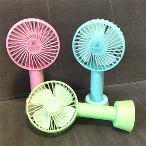 Handheld Personal Mini Fan USB Rechargeable Portable Fan Cooler With Strap Adjustable 3 Speed For Office Outdoor Travel