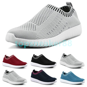 Quality hot fashion women's shoes flying shuttle sports shoes one foot breathable light casual breathable sports shoes