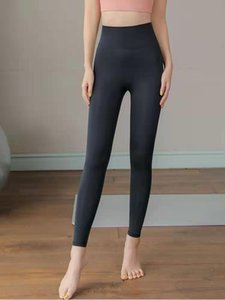 20 Nylon Yoga Pants Ladies Pocket High Waist Cropped Pants Skinny Sports Running Workout Clothes 2 New Hot Sale96