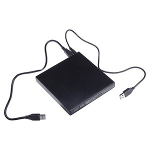 DVD ROM Optical Drive Optical USB 2.0 CD / DVD-ROM CD-RW Burner Slim Recorder Recorder Portable per laptop Windows MacBook