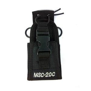 Walkie Talkie MSC-20C Nylon Multi-Function Universal Pouch Bag Holster Carry Case For Yaesu Icom Motorola TYT Baofeng UV-5R 82
