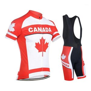 Canada jersey sets men red clothing wear cycling 3D GEL Pad maillot road bike wear ropa de ciclismo commission jersey1