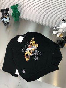 2021 T-shirt da uomo e da donna Splicing Stampa manica corta Early Spring Double Strand Belle cotone tessuto di stampa digitale ECC2XW2