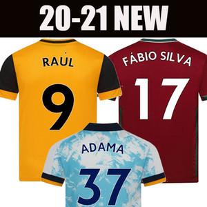 20 21 wolves lupi calcio maglia NEVES RAUL 2020 2021 ADAMA FABIO SILVA Podence NEVES camicia di calcio shirt OTTO calcio degli uomini + kids il corredo delle uniformi