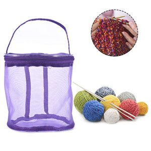 Hot Bags Go Case Baskets Yarn Yarn Sale Round Knitting For On Storage The Traveling And Knitter 2Pcs Afern