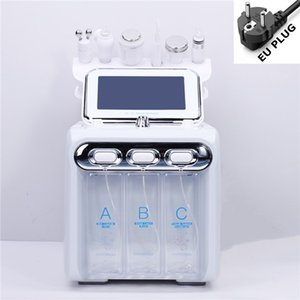 USA warehouse 6 in 1 vacuum cleaning water oxygen jet skin remover Pore Cleaner facial massage small bubble skin care device CE