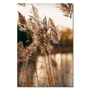 Paintings Poster Canvas Painting Reed Lake Scenery Modern Home Wall Art For Living Room Decoration Pictures Decor