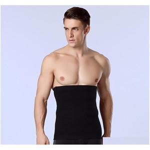Wholesale- 1Pcs Band Men Slimming Body Shaper Belly Waist Abdomen Belt Shapewear Tops Mens Waist Trainer Compression Underwear Strap T Dcsvs
