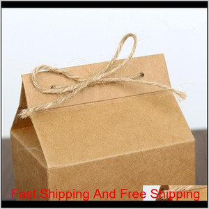 Tea Packaging Cardboard Kraft Paper Bag,clear Window Box For Cake Cookie Food Storage Standing Up Paper P qylOyt bde_luck