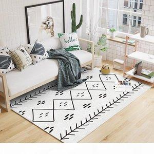 Maroc Modèle Toutes les salons géométriques Carpet sans cheveu Coiffeur, soins de décoration à la maison Chambre à coucher imprimée