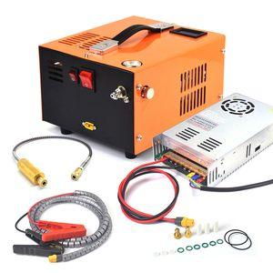 12V 5000psi 400bar 40mpa PCP Air Automobile Compressor Mini Pump With 220V Transformer High Pressure Inflator Car Hunting