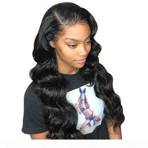 360 Frontal Full Lace Human Hair Wigs Pre Plucked With Baby Hairs Preplucked Body Wave Glueless Malaysian Virgin Hair Cheap Lacefront Wig