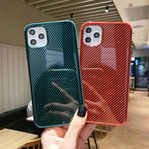2021 Colorful Carbon Fiber Phone Case for iPhone 12pro 11pro X Xs Max Xr 8 7 6 6s Plus Luxurys Designers Hard Shell