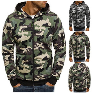 ZOGAA mens winter coat men clothing fashion jacket men Camouflage Overcoats Windproof and warm jacket plus size clothes S-3XL