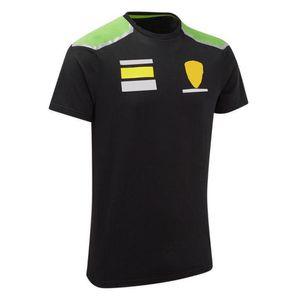F1 Racing Anzug Auto Fans Auto Racing Benutzerdefinierte Kurzarm T-Shirt Auto Serie Revers Polo Hemd F1 Auto Overall Rundhals Kurzhülsen