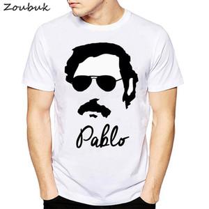 T Shirt Harajuk Tops t-shirt Narcos Godfather Pablo Escobar Anime Men aesthetic Fashion male women Tee Shirt L0223