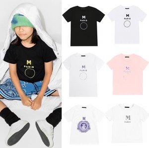Bambini T-shirt Estate Tees Top Baby Boys Girls Letters Stampato Magliette Fashion Traspirante Abbigliamento per bambini 10 stili